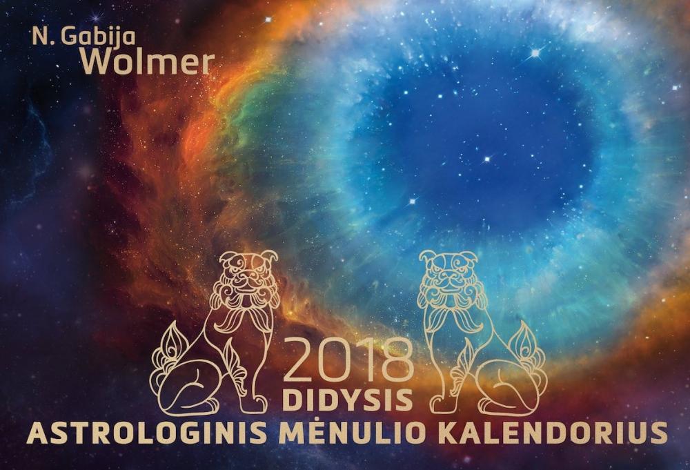 Didysis astrologinis 2018 m. mėnulio kalendorius