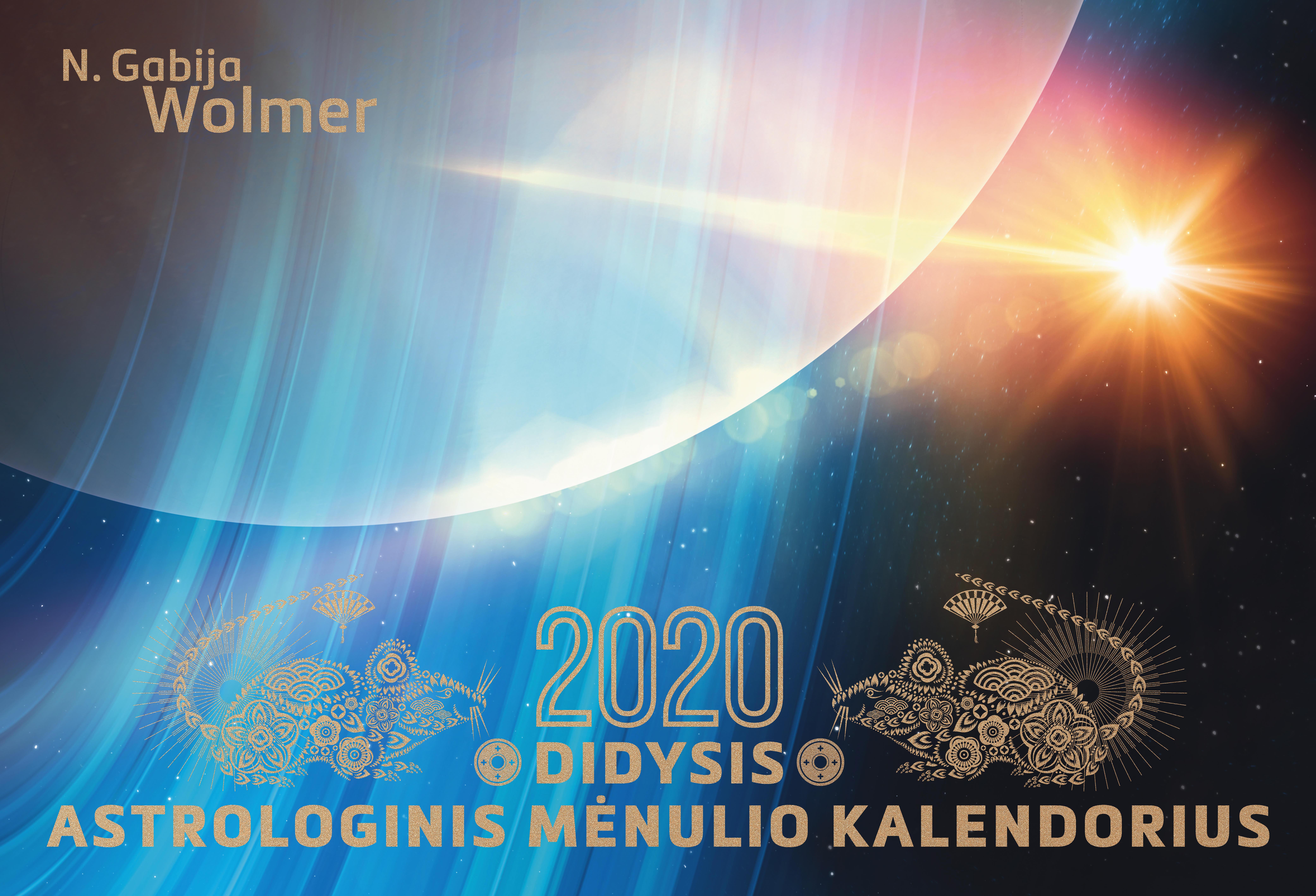 Didysis astrologinis 2019 m. mėnulio kalendorius