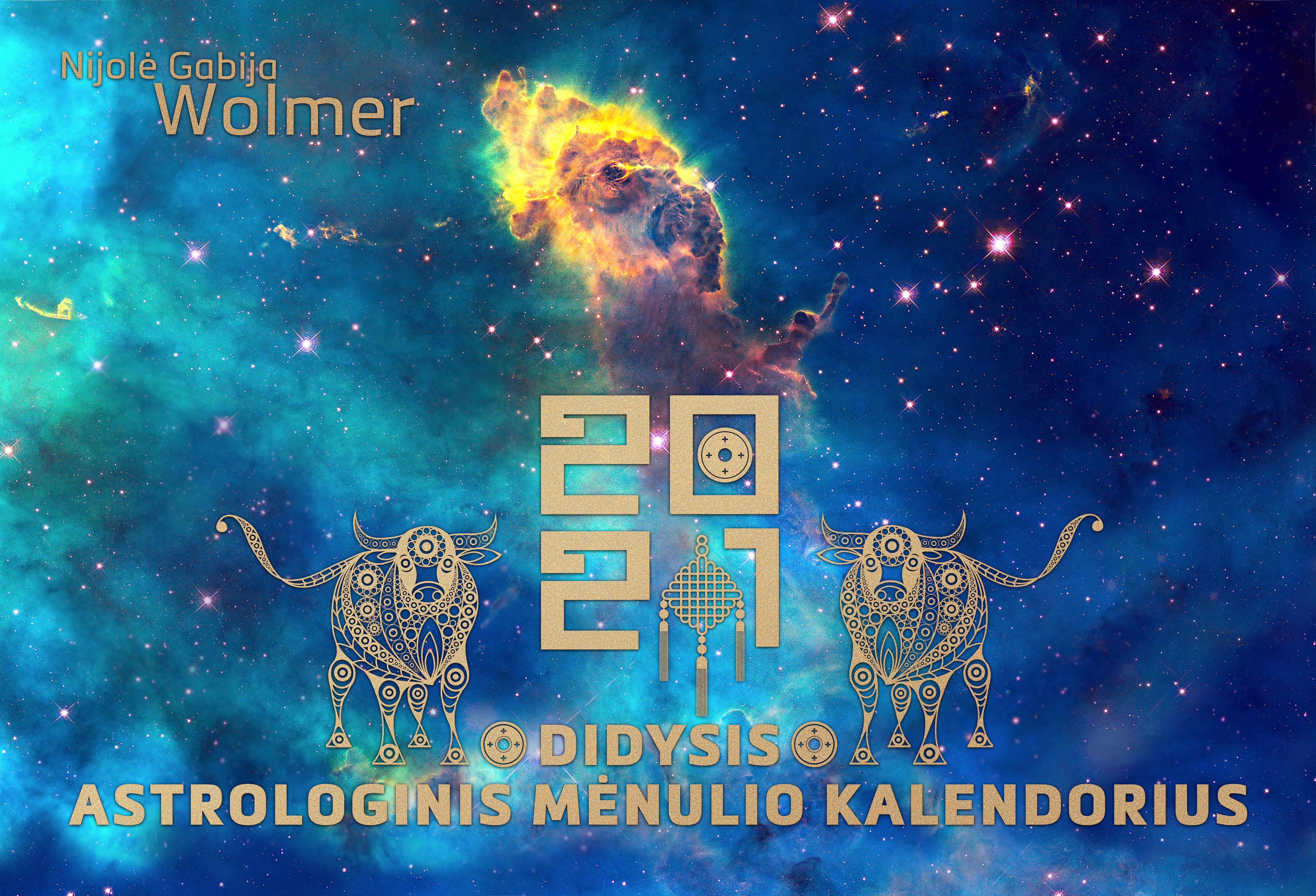 Didysis astrologinis 2021 m. mėnulio kalendorius